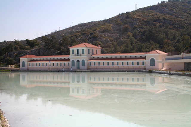 Methana - The Spa was built in the late 19th Century