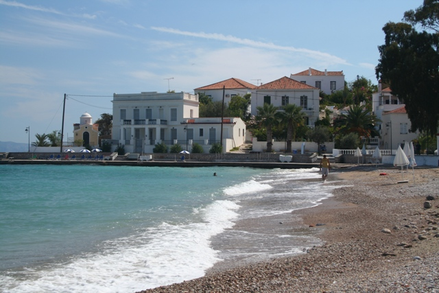 Spetses Island - A place to have a swim near Aghia Mama's