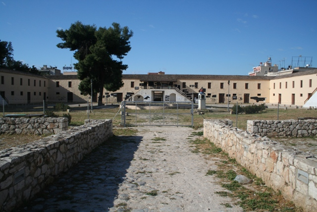 Argos - Barracks of Kapodistrias built in 1690's opposite the market
