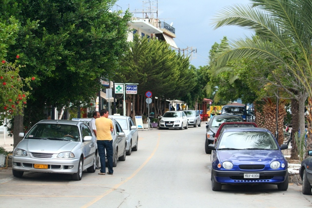 Galatas - Taxis are available next to the ferry landing point