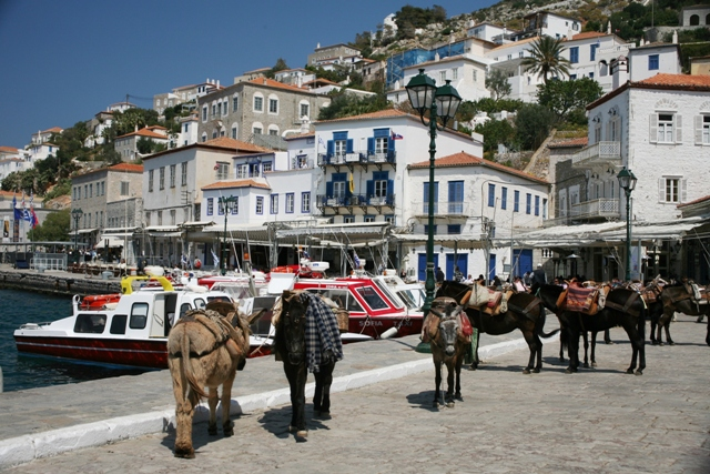Hydra Island - The donkeys are waiting for you