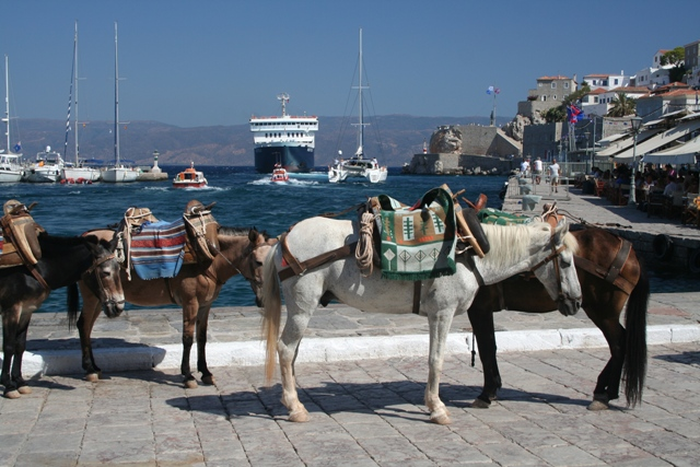 Hydra Island - Time to 'take-a-break' when the ships depart