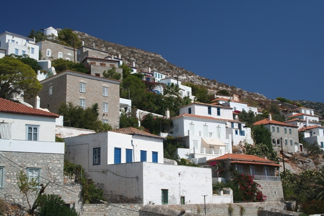 Hydra Island - Beautifully preserved homes around the harbour