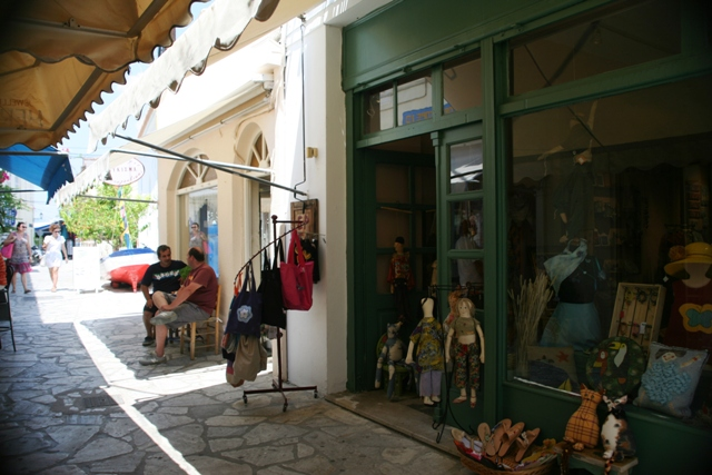 Poros Island - All types of souvenirs can be found on the back-streets