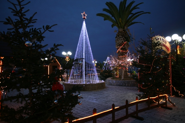 December 25 - Christmas Day - Ermioni Christmas Village