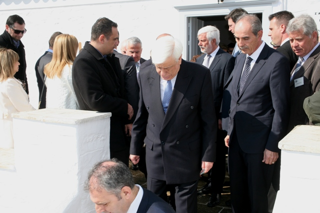Ermioni Museum: Hellenic President's visit for 190th Anniversary