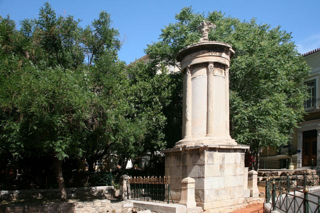 Athens - Plaka - Monument of Lysicrates