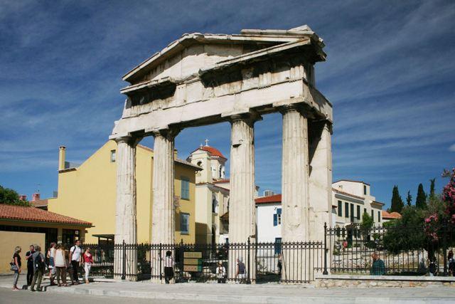 Athens - Gate of Athena Archegetis