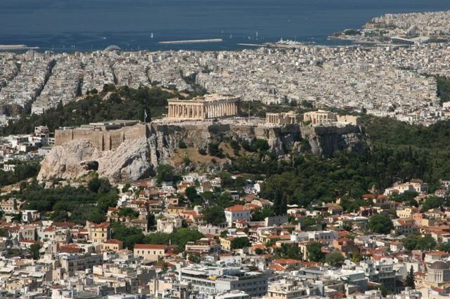 Athens - View from Mount Lycabettus