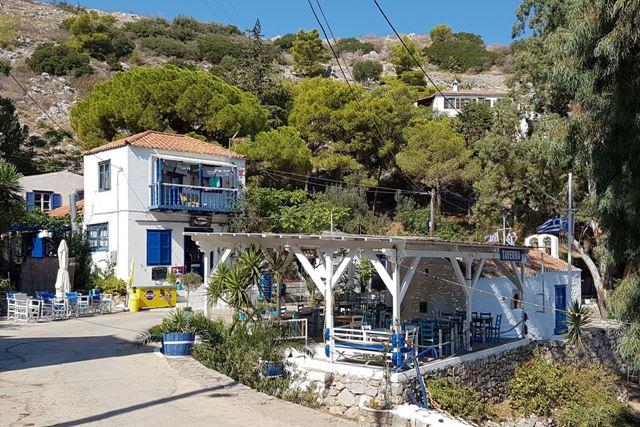 Hydra Island - Taverna at Mandraki Bay