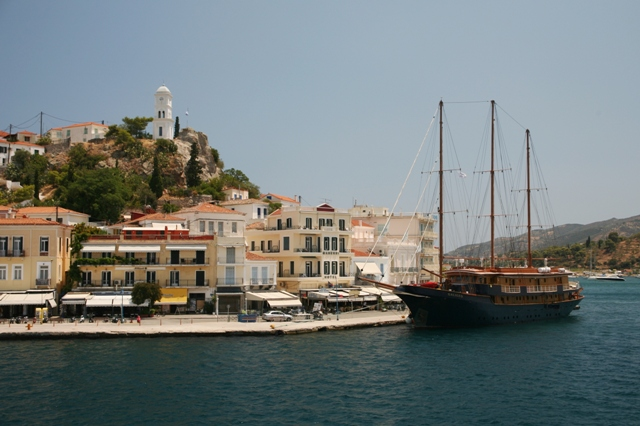 Poros Island - Time to sail away - and return to the mainland