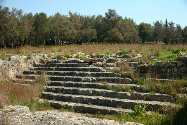Argos - Aspis sanctuary - Temples of Apollo and Athena