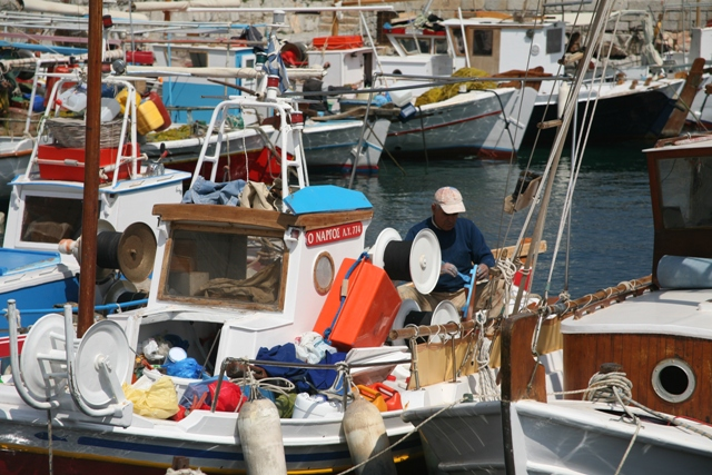 Hydra Island - Fishing is still a main form of income for Hydriots