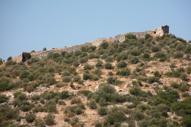 Kazarma - Ancient Acropolis above the tholos tomb