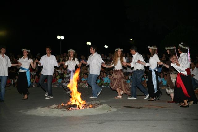 June 23 - 'Klinodas' St.John's festival - Dancing around the fire