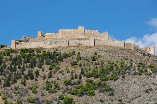 Argos - Castle of Larissa overlooking the city of Argos