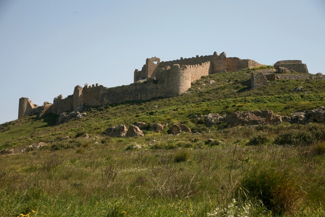 Argos - Castle of Larissa from the South-Western approach