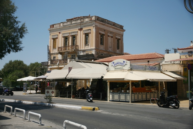 Aegina Island - Old mansions, tavernas, cafes and bars