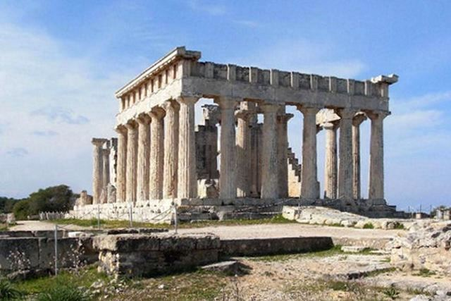 Aegina Island - Temple of Aphaia