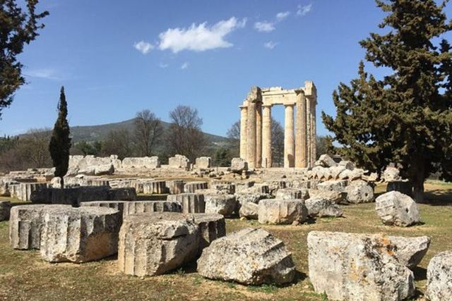 Ancient Nemea - More column 'drums' awaiting erection