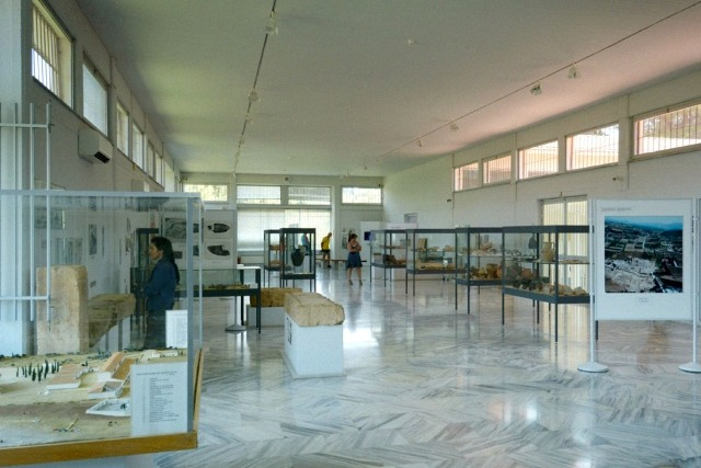 Ancient Nemea - Archaeological Museum interior