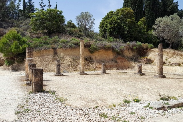 Ancient Nemea - Apodyterium area