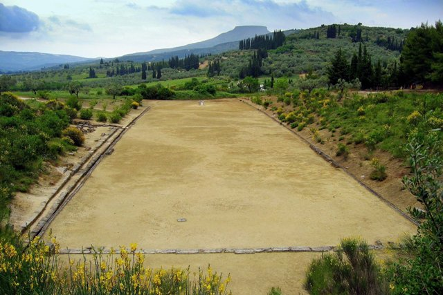 Ancient Nemea - Recently discovered Stadium