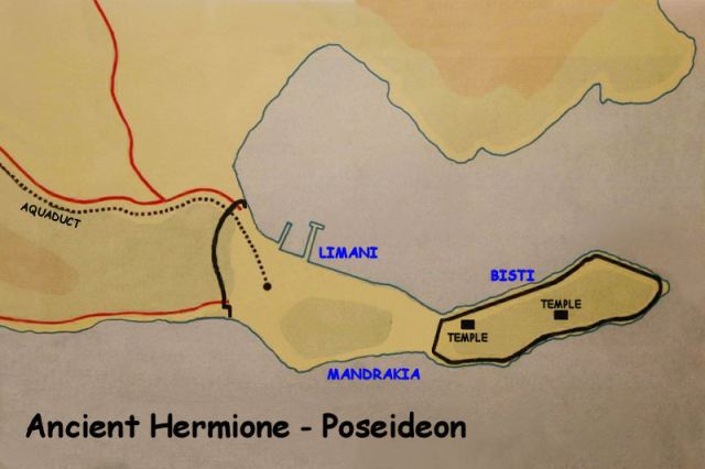 Ancient Hermione - Poseideon fortifications