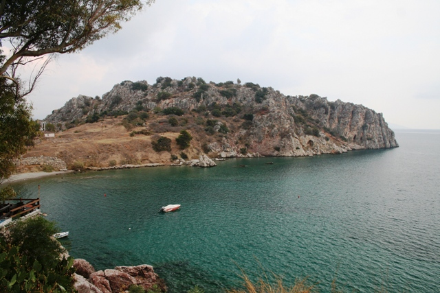 Asine - The peninsula and hill of the ancient site