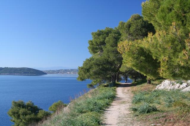 The view towards Kouverta
