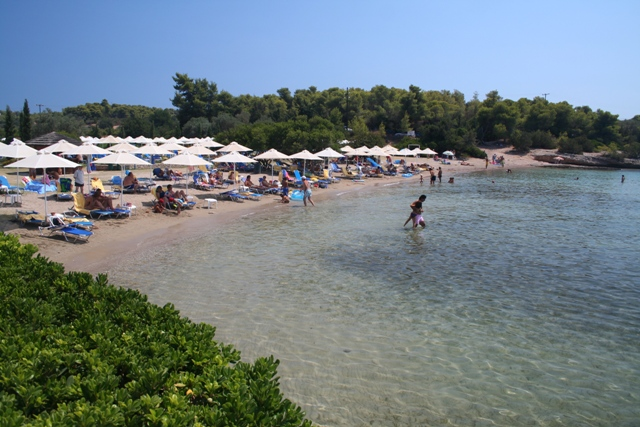 Hinitsa beach - 22 kms from Ermioni