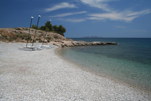 Petrothalassa 'Club Ermioni' beach - 10 kms from Ermioni