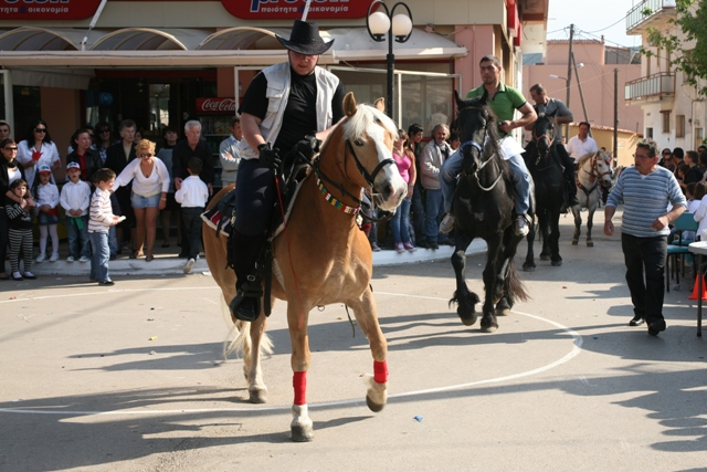 Didyma 'Tulips' festival - Many horse owners take part