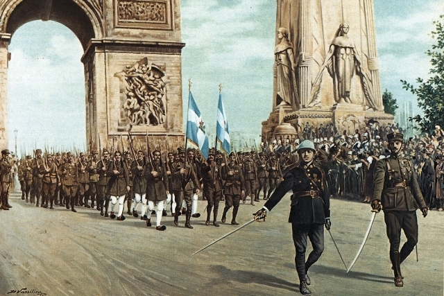 Great War Victory Parade in Paris - July 1919