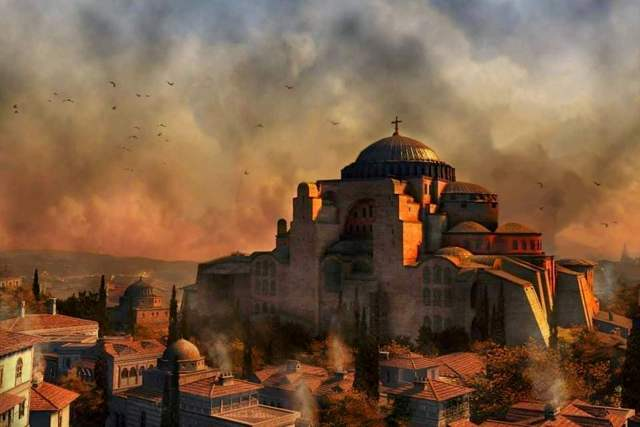 Fall of the sacred city of Constantinople - 29 May 1453