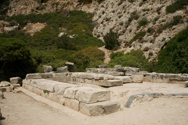 Ancient Heraion - Eastern view of the temple of Hera Akraia