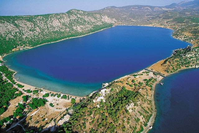 Ancient Heraion - Lake Vouliagmeni (Vouliagmeni Lagoon)