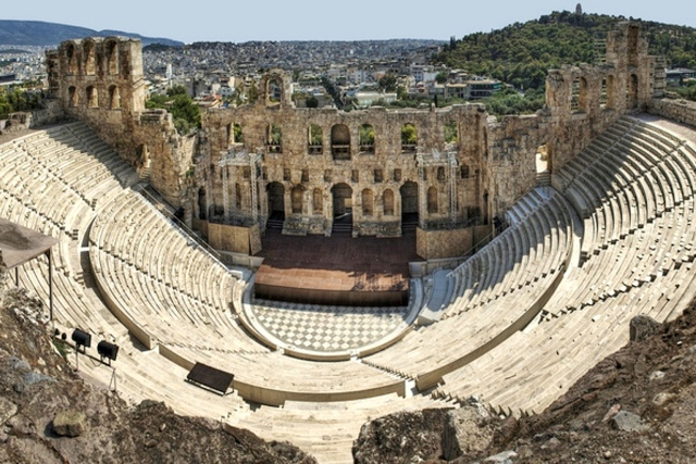 Athens - Odeon of Herodes Atticus