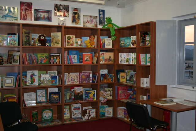 Library: Selection of childrens books available