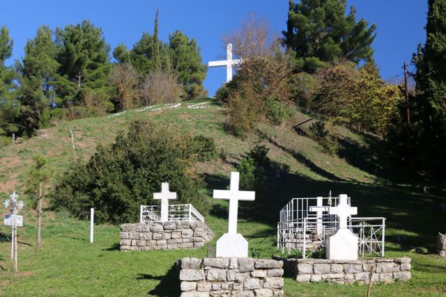 Kalavrita - The sacred cemetery on Kapi Hill