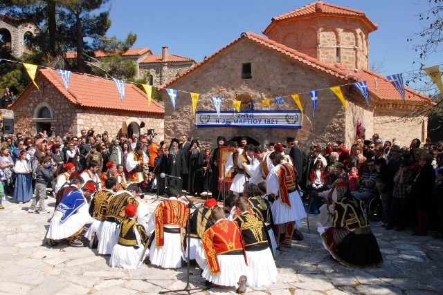 Kalavrita - Annual re-enactment of the famous blessing