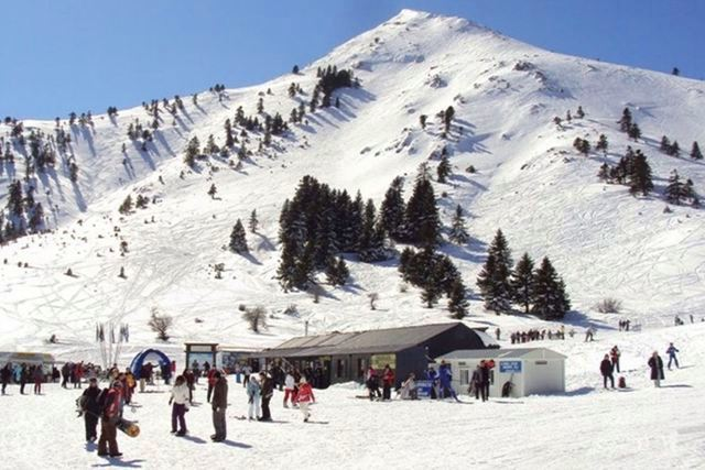 Kalavrita - Famous Greek winter ski resort
