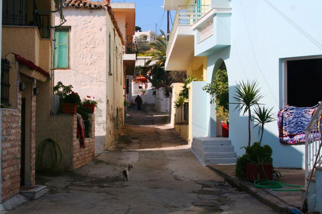 Kilada - Typical village street