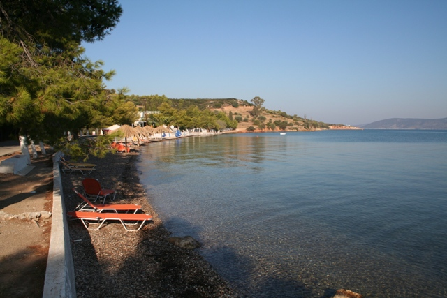 Kilada - Village beach