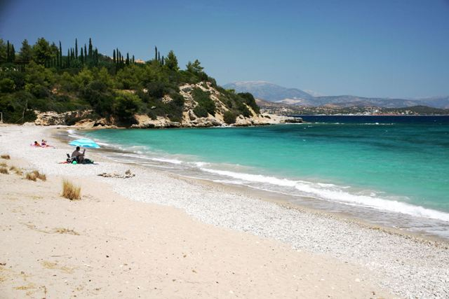 Kounoupi beach - 20 kms from Ermioni