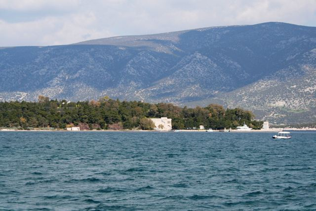 The view of Koronida island from Kilada