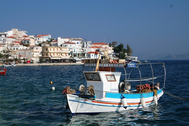 A traditional Ermioni fishing boat