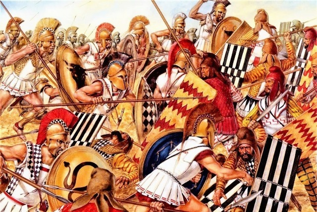 Marathon - The Battle of Marathon 490 BC