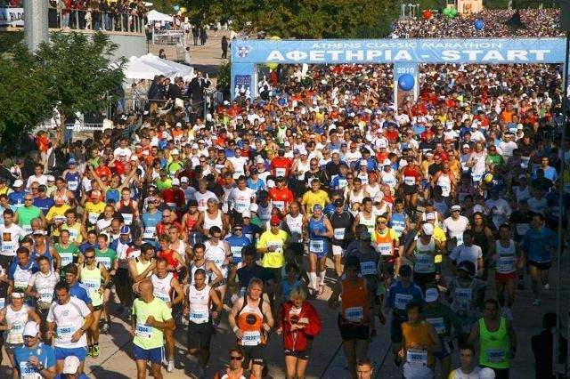 Marathon - The Athens Classic start from Marathon