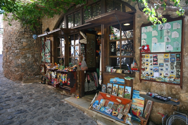 Monemvasia - Various souvenir, gift and craft shops